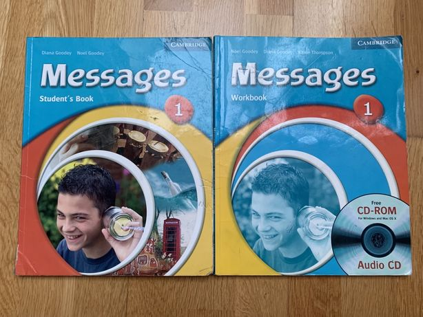 Messages 1 student's book+workbook