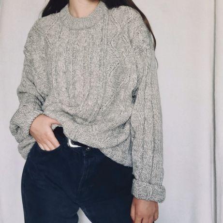 Sweter beżowy melanż Primark
