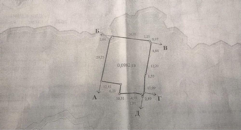 Продажа углового участка в Вишневом