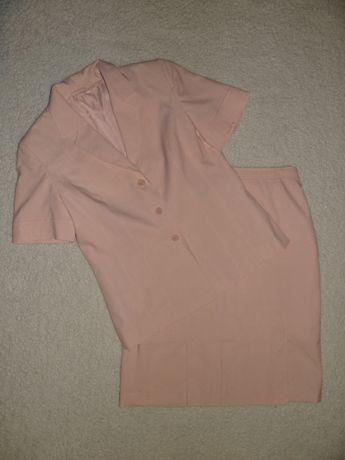 Komplet różowy damski r. 44