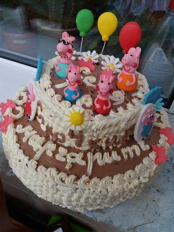 Торт святковий тістечка