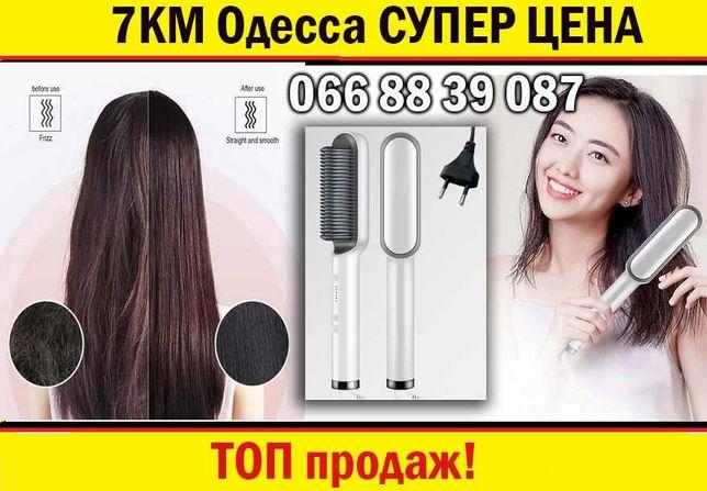 Расчёска - выпрямитель для укладки волос Hair Straightener HQT-908/909
