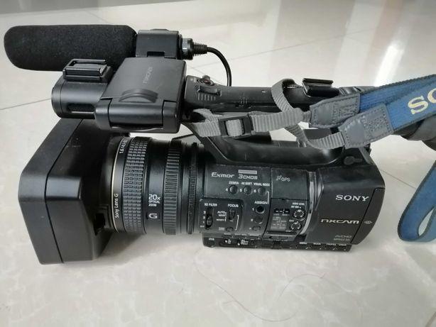 Kamera Sony HXR NX5 z dyskiem Flash Memory 128 MB - jak nowa