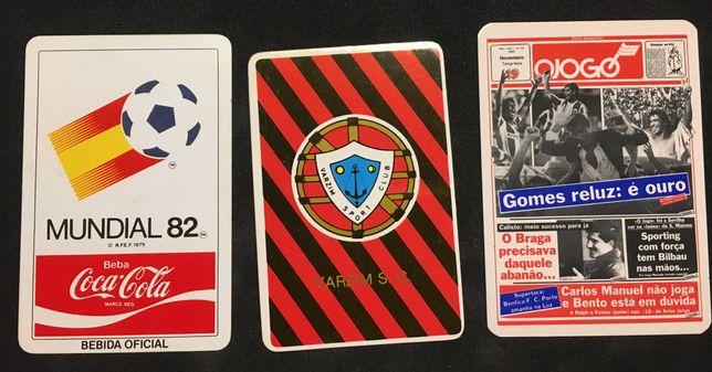 Calendários (de futebol_0,50€ cada)
