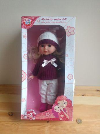 Nowa lalka 28cm+1zl przesyłka
