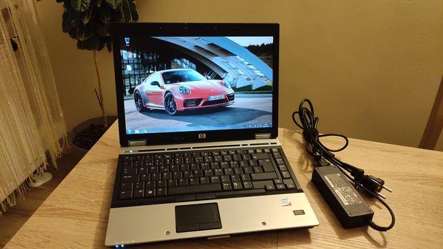 Biznesowy Laptop HP Elitebook 6930P Intel C2D 4GB Ram 500GB Zasilacz