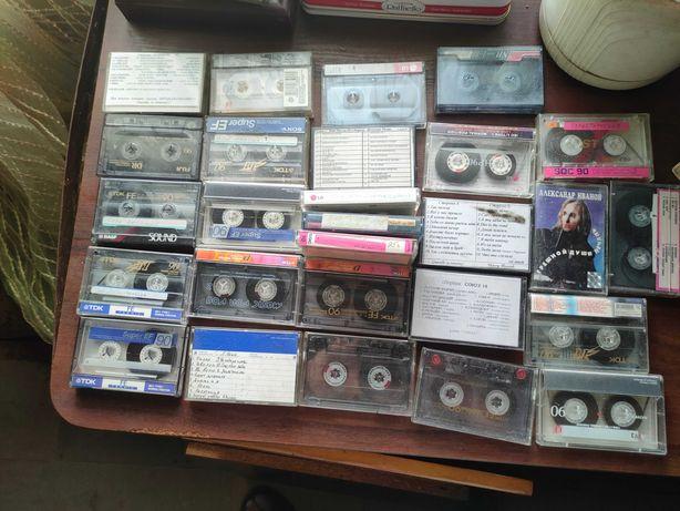 Продам кассеты 27 шт оптом