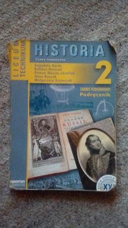 Historia. Czasy nowożytne 2 - podręcznik