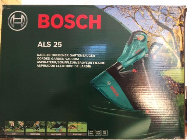 Odkurzacz ogrodowy z funkcją dmuchawy marki Bosh ALS25