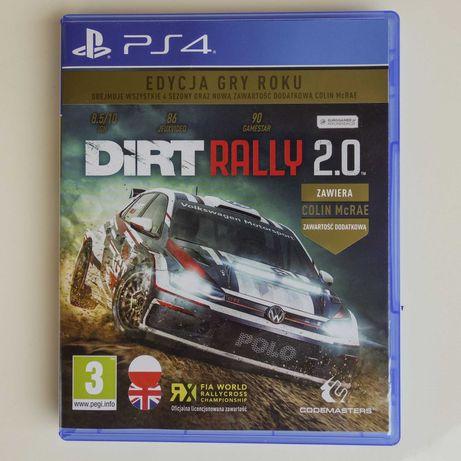 Dirt Rally 2.0 PL +Steelbook PS4 Edycja Gry Roku dużo dodatków