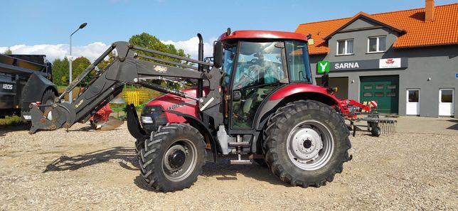 Ciągnik rolniczy Case IH JX80 + ładowacz