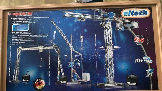 Металлический конструктор EITECH Башенный кран 00035