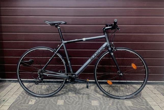 Велосипед citybike btwin carbon fit сітібайк шоссер cube trek merida