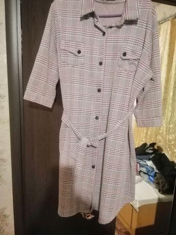 Плаття-рубашка, 48 розміру