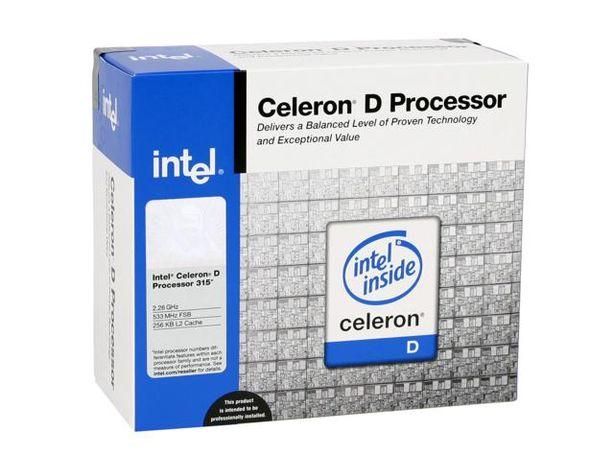 Центральный процессор CPU Celeron D 2.26 GHz/256/533 (Socket - 478)