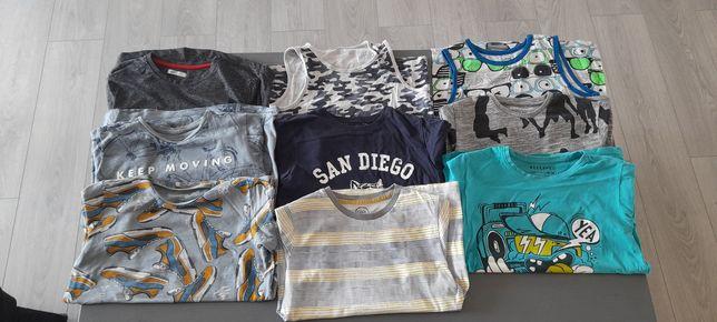 T-shirty chłopięce rozmiar 140-146 RESERVED i inne