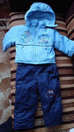 Kurtka narciarska spodnie narciarskie komplet narciarski zimowy  86