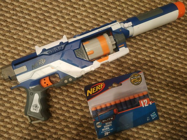 Бластер NERF Elite SPECTRE REV-6 + 5 патронов, оригинал Hasbro!