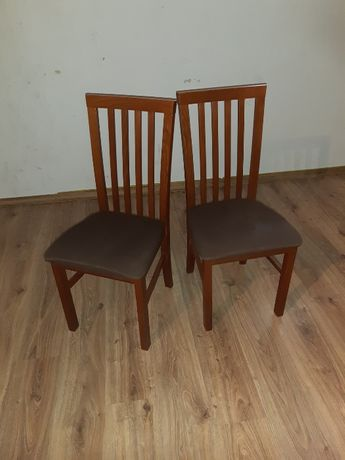 Krzesło drewniane brąz