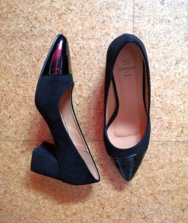 Sapatos pretos Seaside, tamanho 37