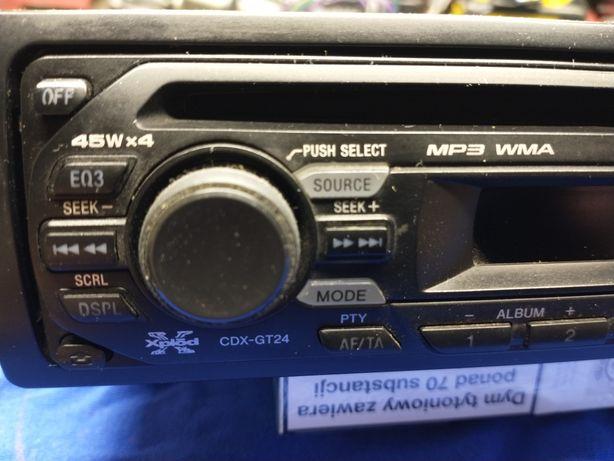 Radio samochodowe Sony Aux