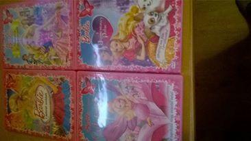 Oryginalne Bajki Barbie + gra plus gratis akcesoria