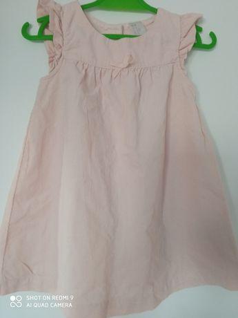 Sukienka sztruksowa hm 86
