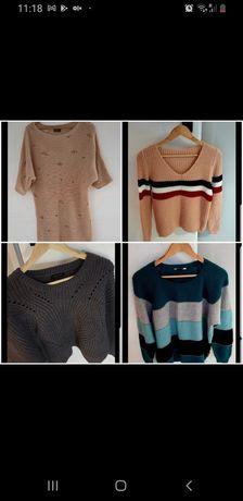 Mega paka 4 sztuki sweterki Zara New Look polecam Zestaw M