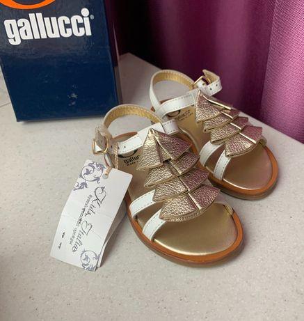 Босоножки сандалии GALLUCCI (ОРИГИНАЛ) Monnalisa Blumarine Florens