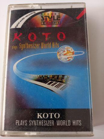 Kaseta magnetofonowa KOTO plays Synthesizer World Hits