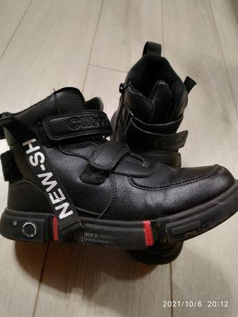 Clibee Клиби детские подростковые деми ботинки хайтопы