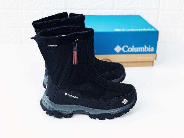 Термо сапоги дутики Columbia +5°-30° дутиши ботинки зима дутиші Коламб