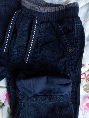 Вельветовые штаны George на подкладе для 1,5-2 года