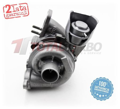 Turbosprężarka turbina Peugeot 1007, 206, 207, 3008, 307, 308 1.6 HDi