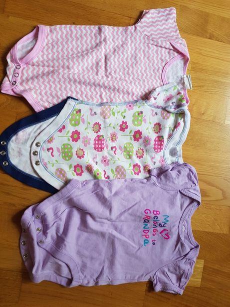 Body niemowlęce 3- 6 m ok 68/74 6sztuk komplet