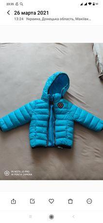 Демисезонная курточка для мальчика в отличном состоянии