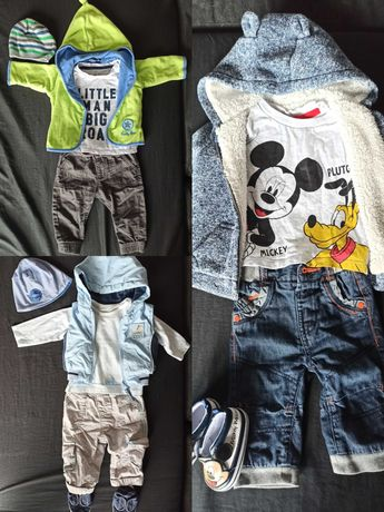 Zestaw ubrań, paka dla chłopaka 6-9 miesięcy