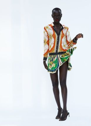 Платье zara под Versace