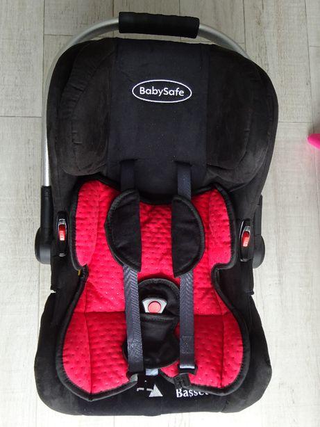 Fotelik samochodowy BabySafe 0-13 kg model Basset w stanie idealnym