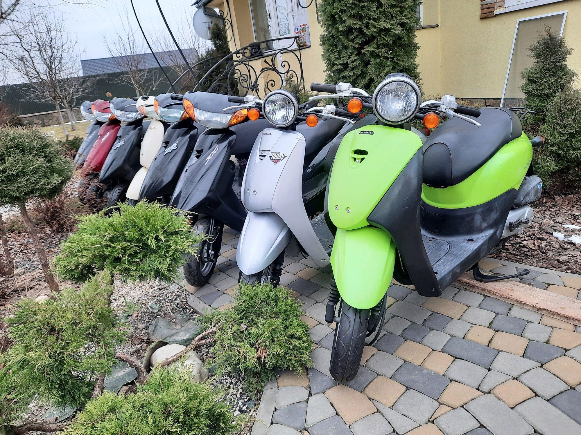 Продам скутера Хонда Діо, Ямаха, Сузукі
