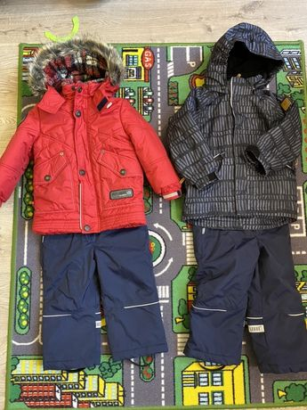 бу куртка парка костюм  Lenne 92 +6 Reima 98+6