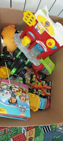 Duzy zestaw zabawek dla chlopca