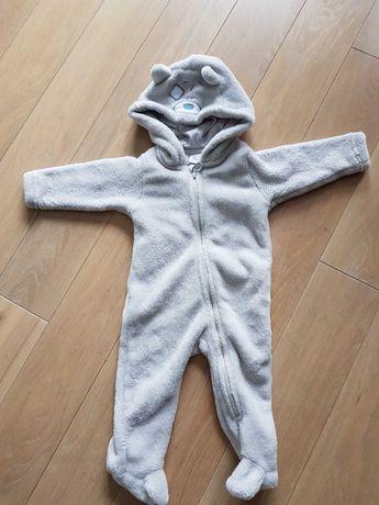 Pluszowy pajacyk niemowlęcy r.68