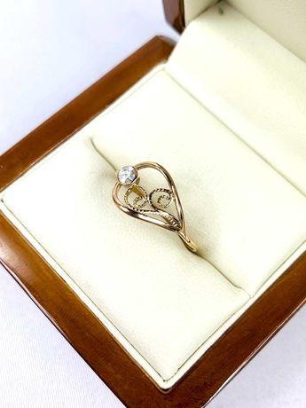 Złoty pierścionek pr.585 14k - PLUS Lombard