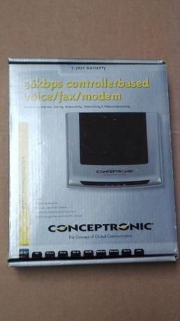 Modem Conceptronic 56kbps voicefax