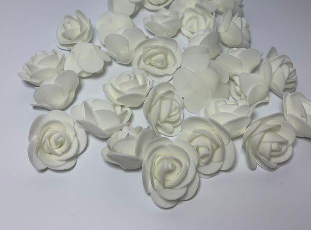 Różyczki piankowe 3 cm, różne kolory - 500 sztuk