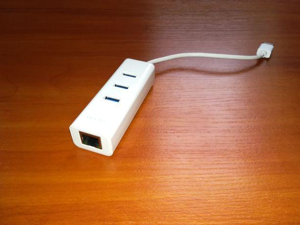 Karta sieciowa TpLink + Hub USB 3.0
