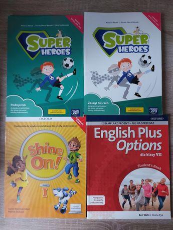 Podręczniki j.angielski