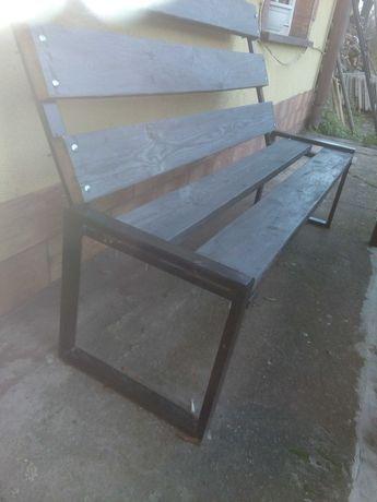 Stół i ławki na taras