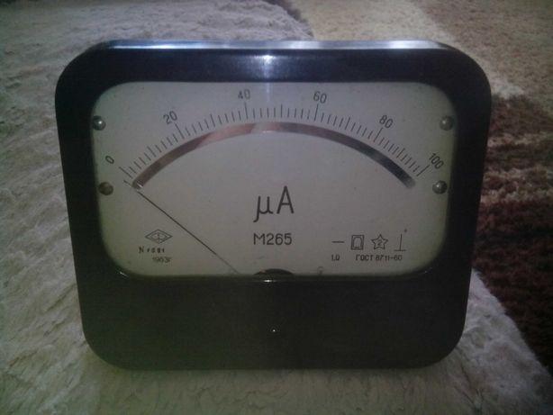 Головка измерительная М265 100 микроампер